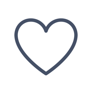 Outline of a heart